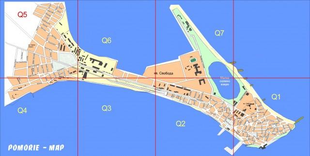 Карта Помория